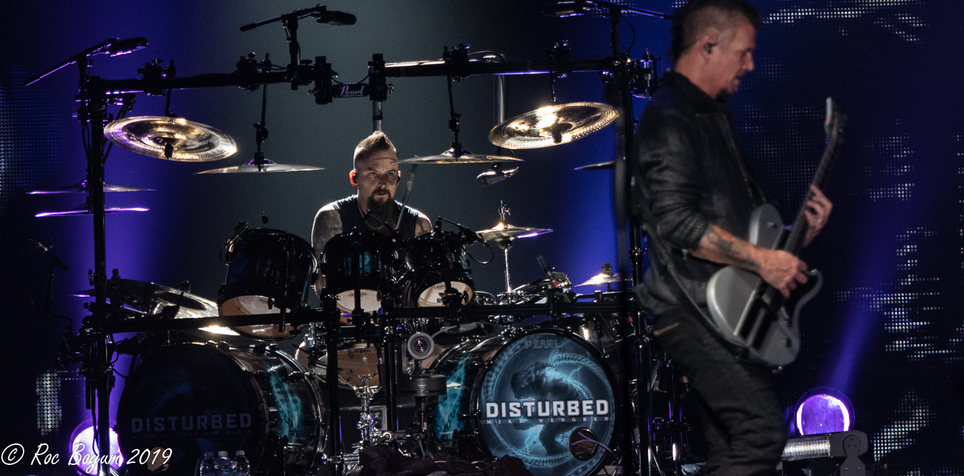 Disturbed David Draiman Los Angeles Forum Concert Photography Concert Reveiws