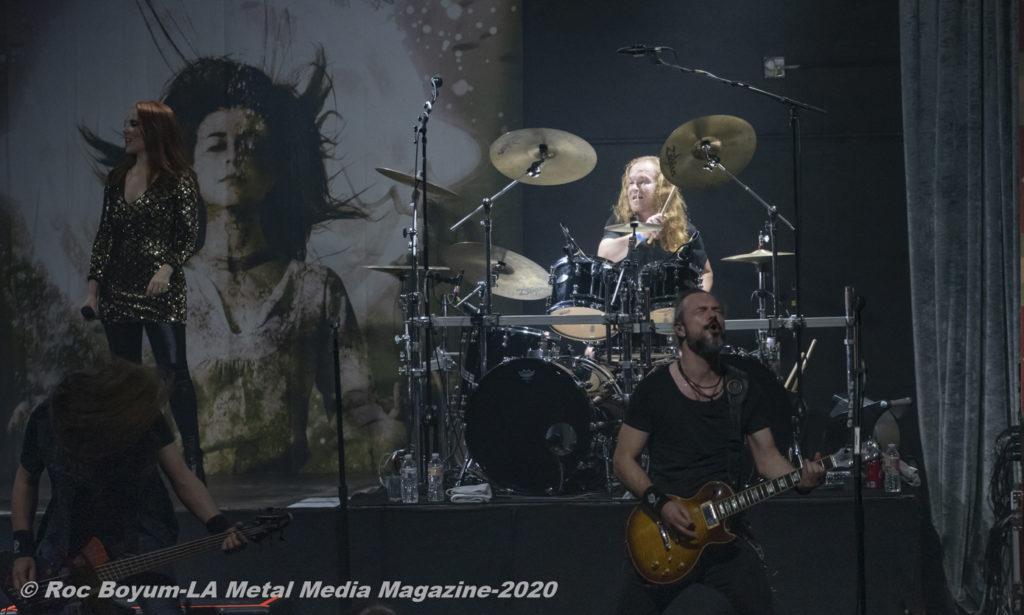 Epica Live Regent Theater Los Angeles