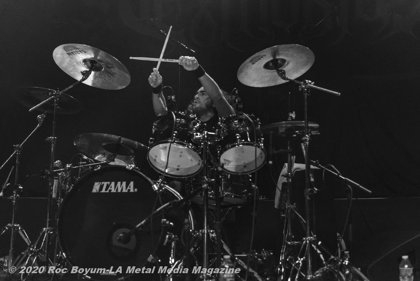 Exmortus Live HOB Anaheim CA 2020