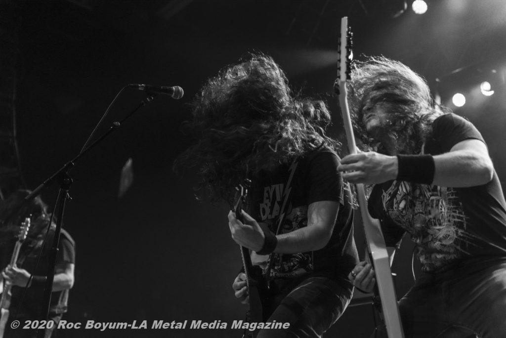 Exmortus Live House of Blues Anaheim 1/16/20