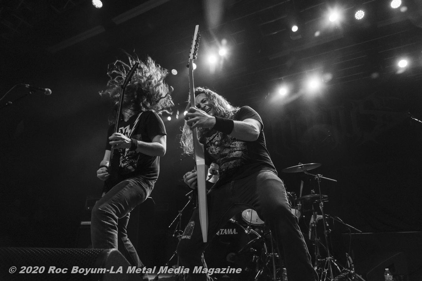 Exmortus Live HOB Anaheim CA