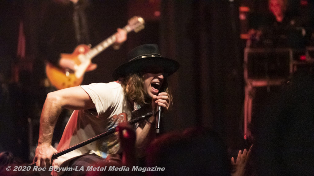 Dirty Honey Live El Ry Theater Los Angeles CA_2-28-20