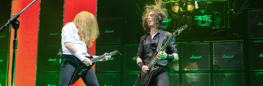 Megadeth live Arizona Federal Theater